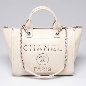 Chanel Large Caviar Deauville Bag tote